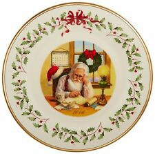 Lenox 2016 Holiday Collectors Plate - Santa Claus - New in Box