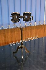 Antique Brass Maritime Vintage Gift Nautical Binocular Telescope With Stand