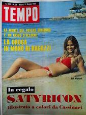 TEMPO n°20 1969 Evi Marandi - La Milano triste di Gastone Novelli   [C88]