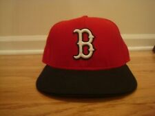VTG Boston Red Sox New Era 7 1/8 hat cap 1997 Red Alternate Diamond Collection