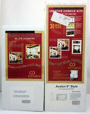 "Nib 9"" Avalon Window Cornice Kit with Extension Kit by Create it decor"