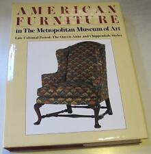 American late Colonial Chair,Table,Chest,Bed, Furniture,Museum Hardcover Catalog