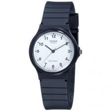 abd17d068897 Unisex Watch CASIO Vintage MQ-24-7BL Silicone Black White Classic