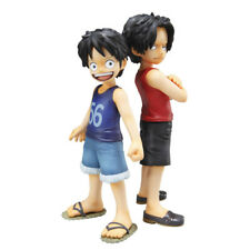 ONE PIECE LUFFY + PORTGAS BROTHER'S BOND POP MILD MEGAHOUSE FIGURE NEW NUEVA