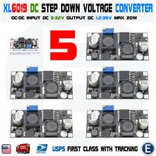 5pcs Xl6019 Boost Buck Module Dc Dc Adjustable Step Up Down Voltage Converter Us