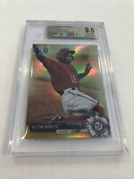 2017 BOWMAN CHROME GOLD REFRACTOR VICTOR ROBLES RC /50 BGS 9.5 GEM