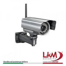 Telecamera IP Da Esterno IP66 Wireless LKM® Camera Videosorveglianza Wifi