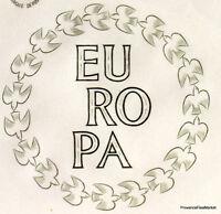 Yt 1309 A EUROPA 61 STRASBOURG   FRANCE  FDC  ENVELOPPE PREMIER JOUR