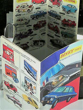 "CATALOGUE DINKY TOYS FRANCE,  ORIGINAL1971 (magasin ""Miniatures"" à Lyon)"