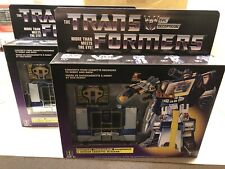Transformers Soundwave G1 Walmart Exclusive Reissue Buzzsaw Cassette LOT 2