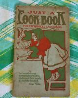 Vtg Cookbook Booklet 1902 Economical Gas Cooking Recipes -RM2=