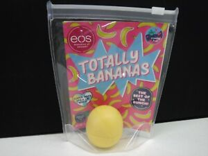 EOS TOTALLY BANANAS MICROBATCH LIP BALM LIMITED EDITION STICKER SHEET NEW A26392