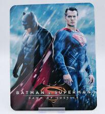 BvS Batman V Superman - Glossy Bluray Steelbook Magnet Cover (NOT LENTICULAR)