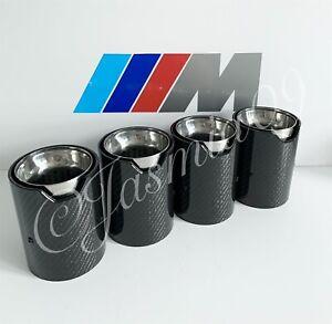 BMW MPE M PERFORMANCE CARBON EXHAUST TIPS M2 F87 M3 F80 M4 F82 M5 F10 M6 F06 F12