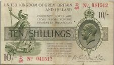 GRANDE-BRETAGNE : 10 SHILLINGS 1919 - P.356