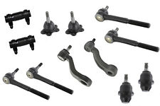For Chevrolet Tahoe 4WD 95-00 Front Tie Rods Ball Joints Pitman Arm Idler Arm