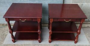 Pair of Vintage Side / Occasional Tables