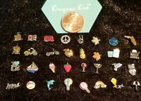 Origami Owl Floating Locket Charms New Retired Rare & HTF - YOU PICK - FREE SHIP