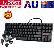 REDRAGON K552 Mechanical Gaming Keyboard Red LED Backlight 87 KeyS Blue Switches