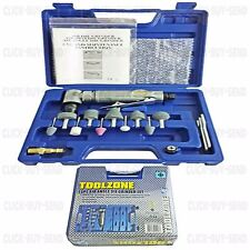 "1/4"" 15 PIECE AIR ANGLE DIE GRINDING KIT KITS COMPRESSOR TOOL TOOLS SET SETS NEW"