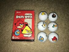 (6) Angry Birds Golf Balls by Srixon *New In Open Box!*