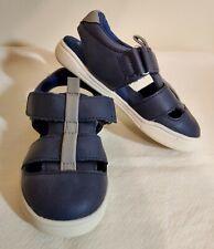 Cat & Jack London Fisherman Sandals Toddler Boys Navy Blue Sport Shoe US Sz 8 M