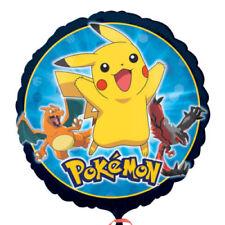 Artículos de fiesta color principal multicolor de cumpleaños infantil de Pokémon