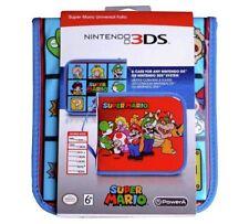Universal Super Mario 2DS/3DS XL Folio Case Perfect Portable Storage Solution_UK
