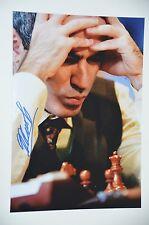 Garry kasparov signed 20x30cm foto autógrafo Autograph en persona garri kasparov