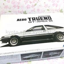 Aoshima 1/24 model car Toyota AE86 Sprinter Trueno GT-APEX '85 model Kit JAPAN
