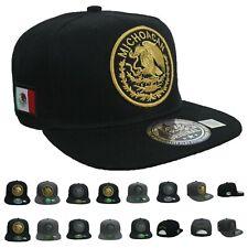 MEXICO Baseball Cap Hip Hop Hat Flat Bill Snapback SINALOA JALISCO MICHOACAN