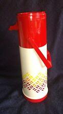 Vintage 1 Quart Aladdin's Pump-A-Drink Red Thermos
