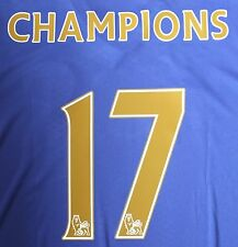 Official Sporting id 2017 Chelsea Champions 17 Gold Shirt Print Set