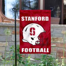 Stanford Cardinal Football Helmet Garden Flag and Yard Banner
