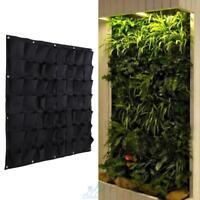 56 Taschen Pflanzenwand Pflanzen Wand Pflanztasche Pflanzbeutel Balkonkasten Hot