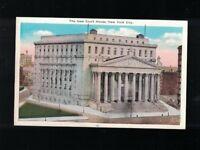 C 1925 New Court House Worth Lafayette & Centre Streets New York City Postcard