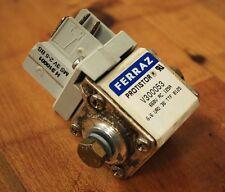Ferraz Protistor V300053 Fuse Block with W310001 Micro Switch - USED