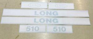 Long 510 Hood Decals