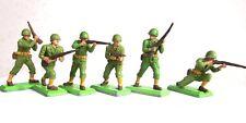 Britains Deetail seconda guerra mondiale americani GI 's SERIE 1 Set completo di 6