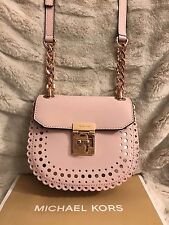 NWT MICHAEL KORS VIOLET CECELIA LEATHER SMALL CROSSBODY BAG IN BLOSSOM/BALLET
