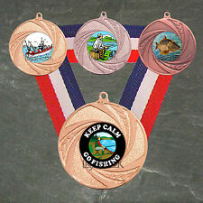 Fishing Medal Sports Trophies