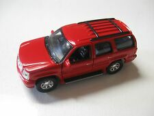 WELLY 1:38 SCALE 2002 CADILLAC ESCALADE DIECAST TRUCK PULLBACK W/O BOX