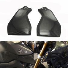 Carbon Fiber Gas Tank Side Cover Trim Fairing for Yamaha  MT FZ 09 2014-2017