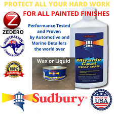 TOP COAT SEALER PROTECT Polish AUTO Car MARINE Wax
