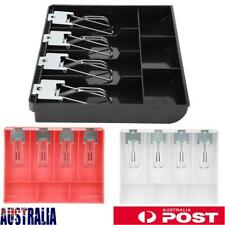 Cash Drawer Register Insert Tray Cash Drawer Security Storage Box Easy Install