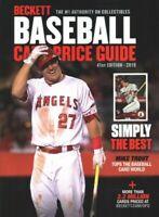Beckett Baseball Card Price Guide 2019, Paperback by Beckett Media (COR), Bra...