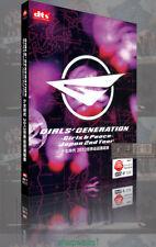 DVD New SNSD GIRLS' GENERATION Girls & Peace Japan 2nd Tour DVD free shipping