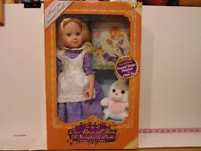 "Dazzleworks Once Upon A Time 18"" Storybook Dolls Alice In Wonderland Book Rabbit"