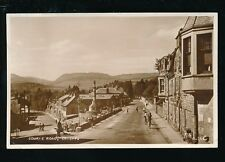 Scotland Perthshire CRIEFF Comrie Rd 1955 RP PPC by Valentine