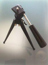 Portable Mini Tripod Stabilizer Stable Metal Alloy Desktop Tabletop Three-leg St